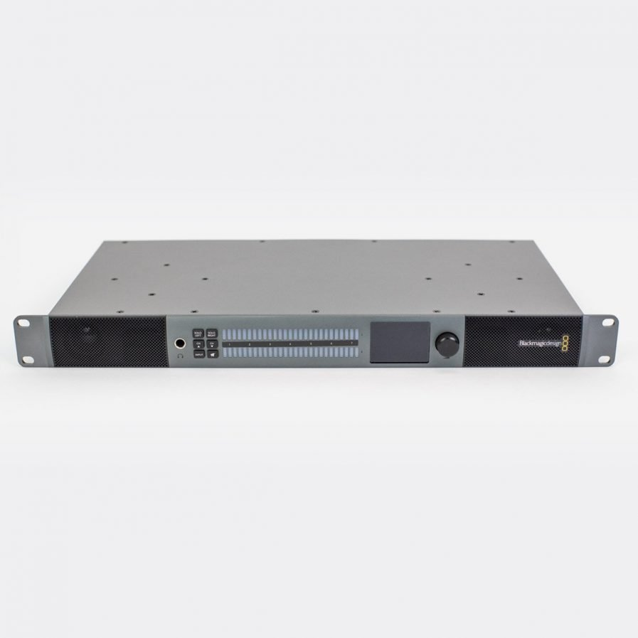 Used Blackmagic BMD-HDLAUDMON1RU Audio Monitor