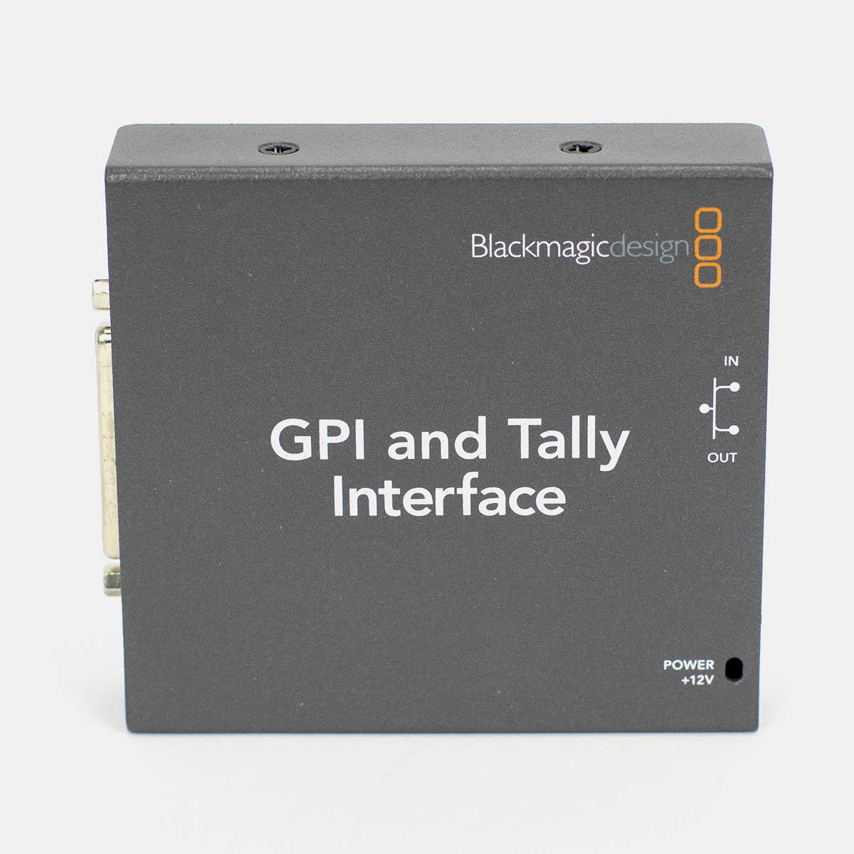 Used Blackmagic SWTALGPI8 GPI and Tally Interface Box