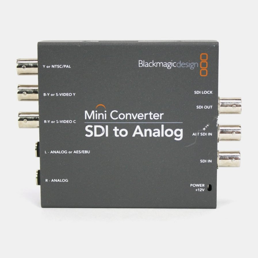 Used Blackmagic CONVMBASA Mini Converter SDI to Analog