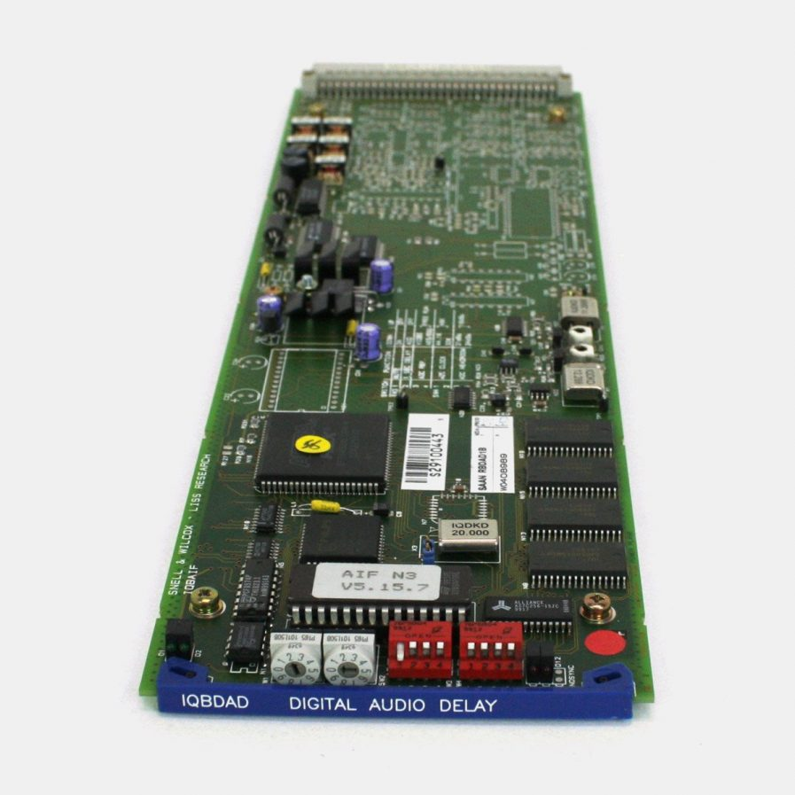 Used Snell IQBDAD 2 Channel AES Delay