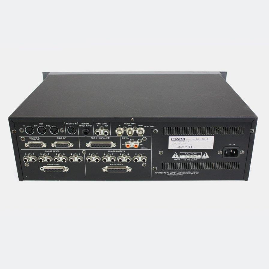 Used TASCAM DA-78HR 24-bit Digital Multitrack Recorder