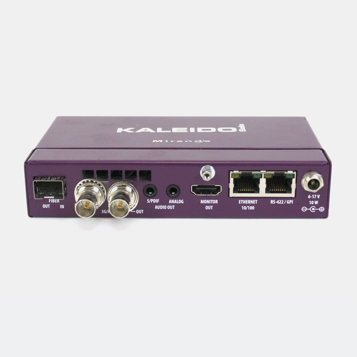 Used Grass Valley Kaleido-Solo loudness monitor and 3G SDI to HDMI converter