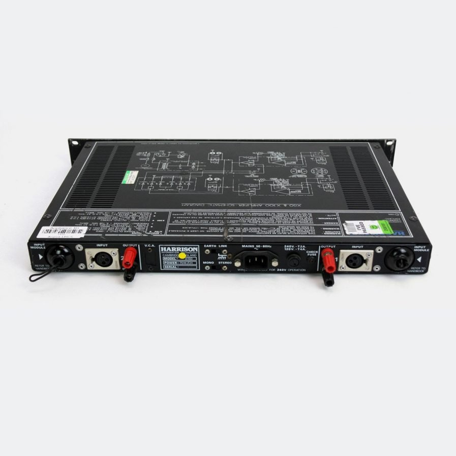 Used Harrison X150 150W Power Amplifier