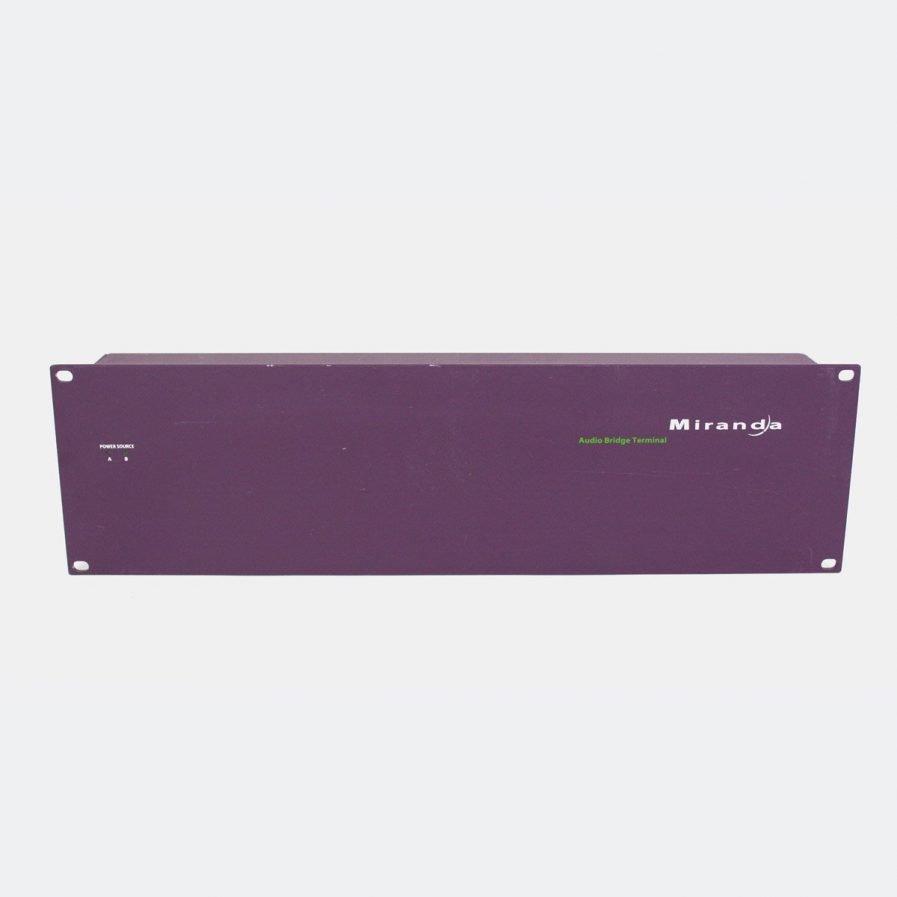 Used Miranda ABT-64A Audio Bridge Terminal