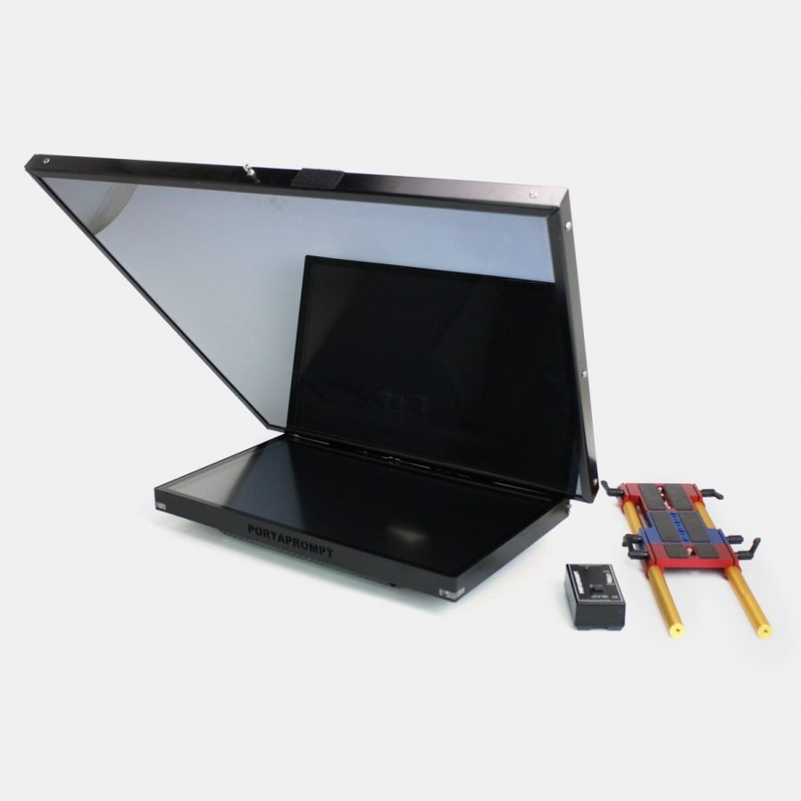 Used Portaprompt 400-066 Quasar 24 Large Prompter with mirror for box lens