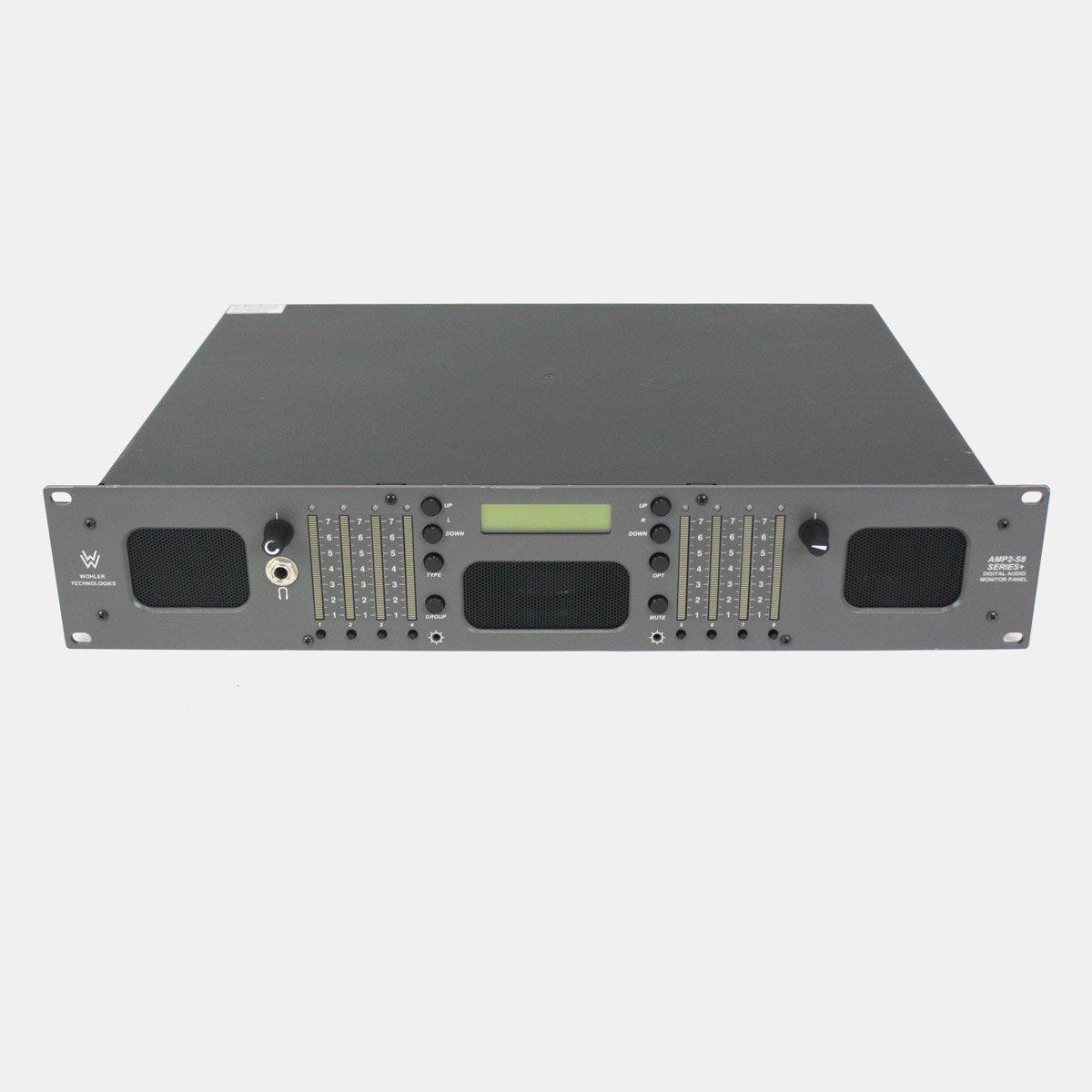 Used Wohler AMP2-S8-MDA 8 Channel 3G-SDI Audio Monitor