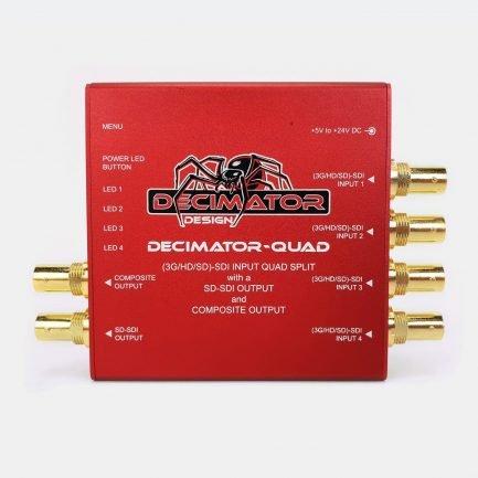 Used Decimator QUAD 3G-SDI quad split