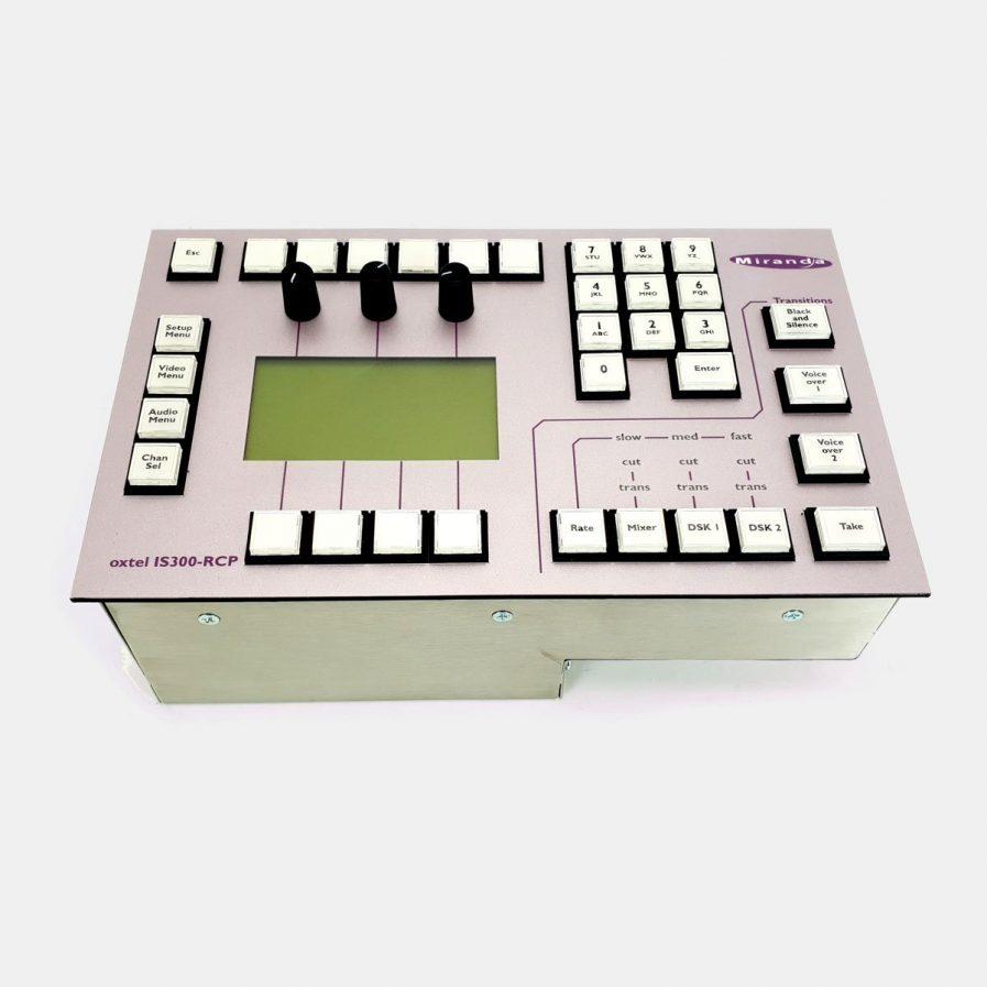 Used Miranda IS300-RCP Remote Control Panel