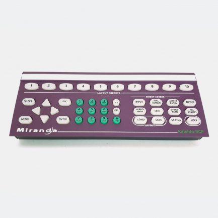 Used Miranda KALEIDO-RCP Remote Control