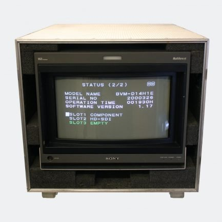Used Sony BVM-D14H1E CRT colour monitor