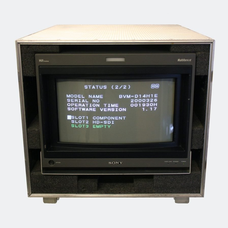 Used Sony BVM-D14H1E CRT colour monitor