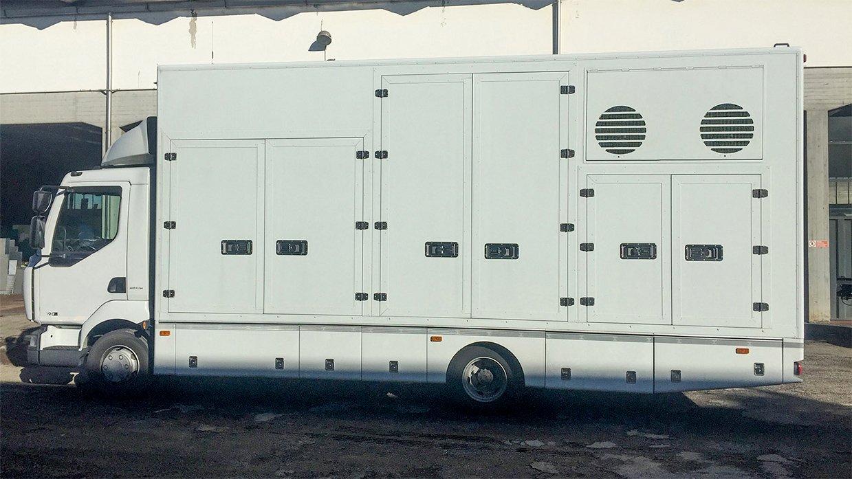 REF 821 FIVE-CAMERA RIGID-CHASSIS HD OB TRUCK