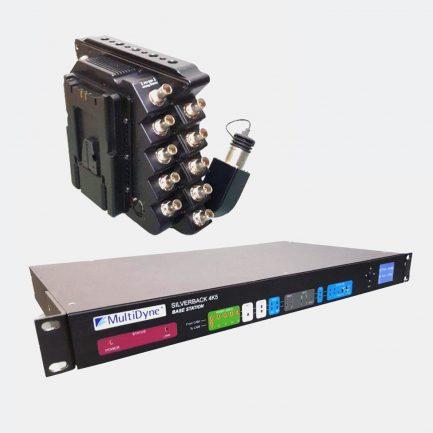 Used MultiDyne 4K5 SilverBack Fiber-Optic System