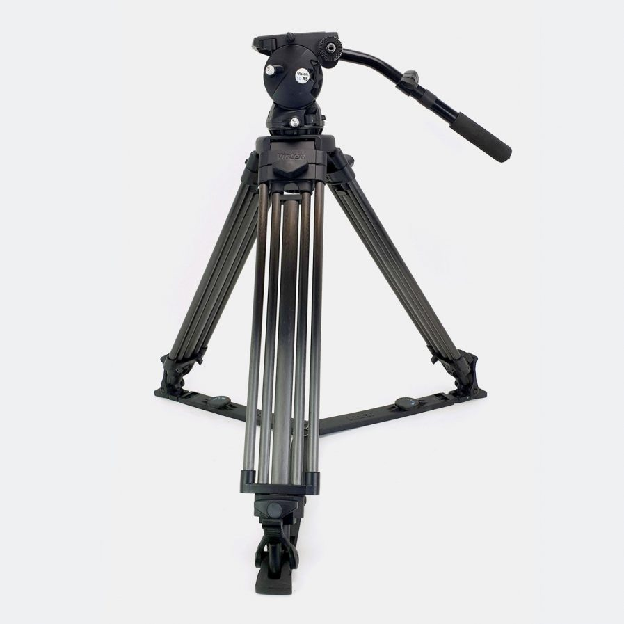 Used Vinten Vision 10AS Tripod System