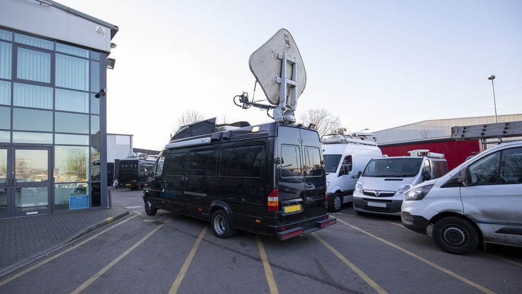 Second-Hand KU Band SNG Van For Sale | ES Broadcast