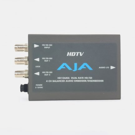 Used AJA HD10AMA Analog Audio Embedder/Disembedder