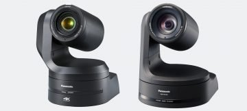 ES Broadcast adds Panasonic 4K PTZ cameras to the hire fleet