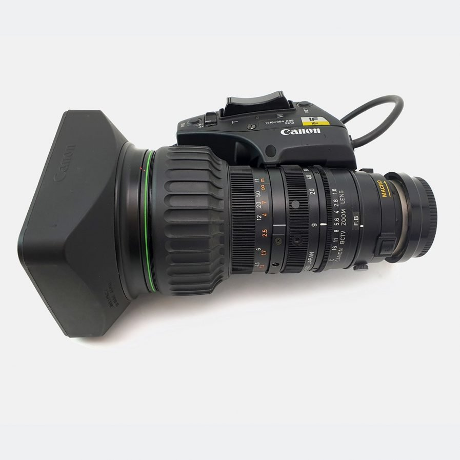 Used Canon YJ18x9B4 KRS 18x ENG lens