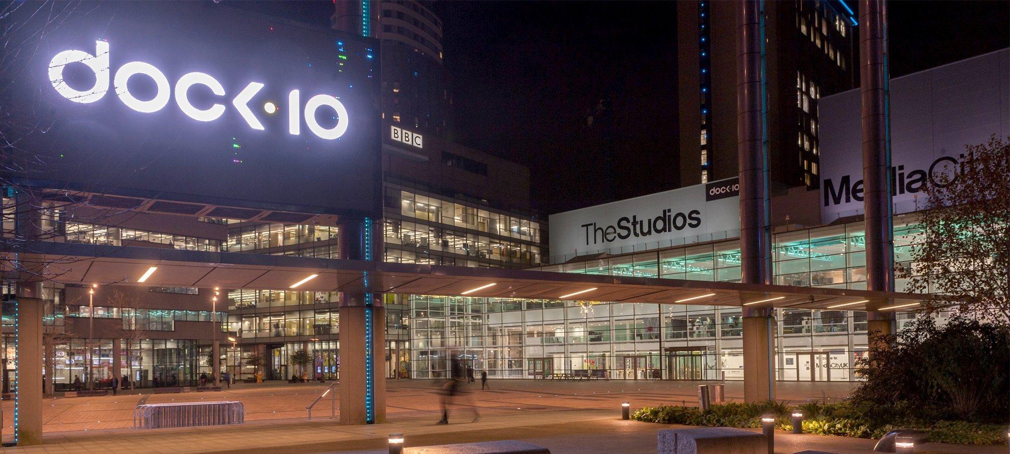 dock10 studios at MediaCityUK, Salford