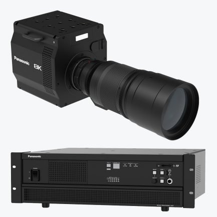 Panasonic 8K ROI Camera System