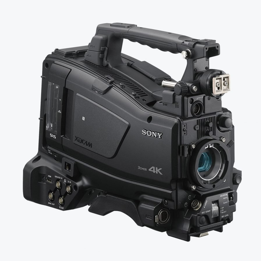 Sony PXW-Z750 4K ENG Camcorder with Global Shutter