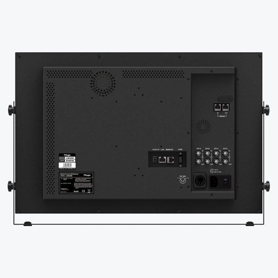 "TVLogic LUM-240G 24"" UHD 12G-SDI Single Link Monitor"