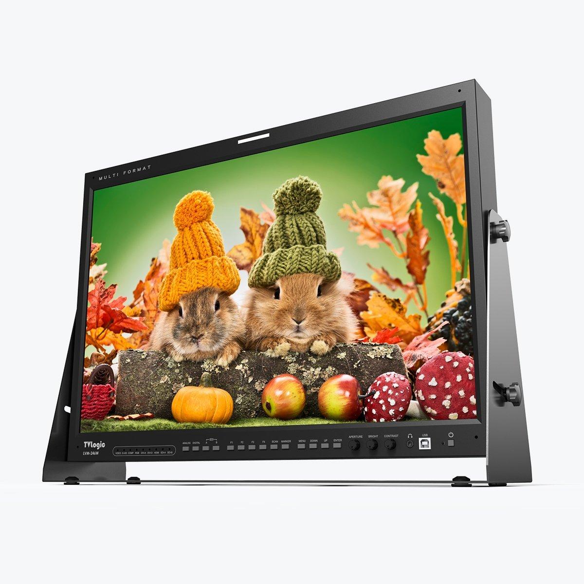 "TVLogic LVM-246W 24"" Full HD Professional LCD Monitor"